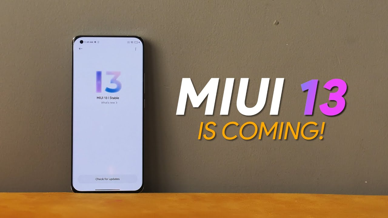 Download MIUI 13 is Coming But...