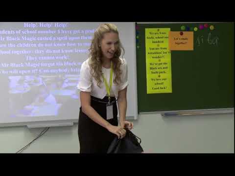 Видео физкультминутка на уроке английского языка 5 класс
