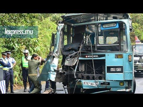 Accident à Nouvelle-France: collision entre deux bus