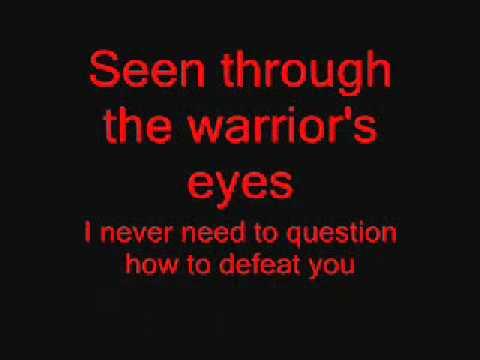 Disturbed - Warrior Lyrics