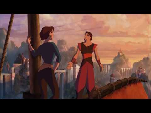 Sinbad Kissed Sweetly And Sailed Together With The Girl He Loved