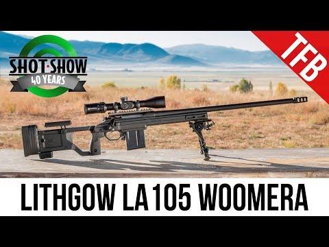 [SHOT 2018] Lithgow LA105 Woomera Long Range Rifle at SHOT Range Day 2018