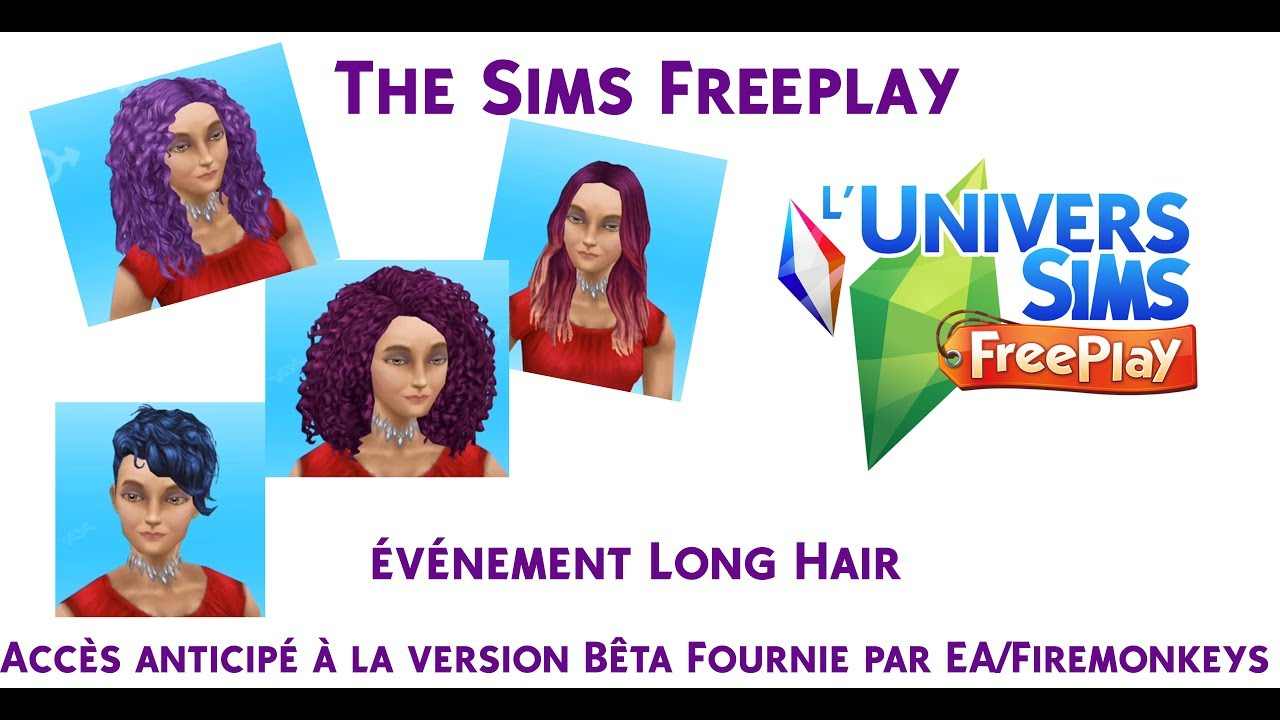 The sims freeplay long hairstyle - The Sims Freeplay V Nement Long Hair Acc S Anticip
