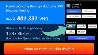 Chơi Game Kiếm Thẻ Cào Và Momo Uy Tín Năm 2020 - LVT | Kiếm Tiền Online