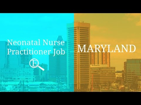 Neonatal Nurse Practitioner Job | Maryland - 1465