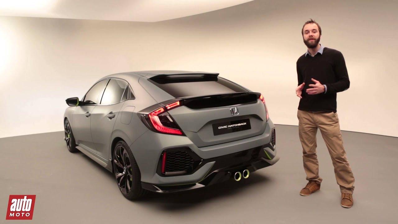 Honda Civic Hatchback 2016 Encore Plus De Sens