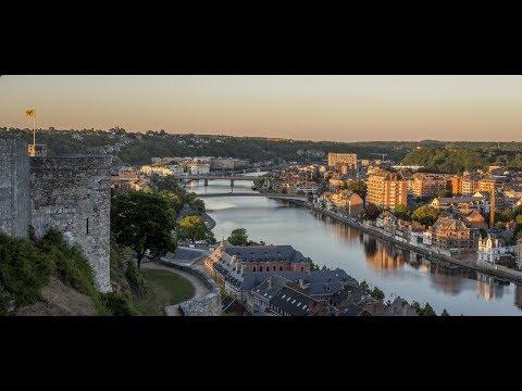 (Studio ATB 54 )Timelapse Citadelle de Namur Belgium.