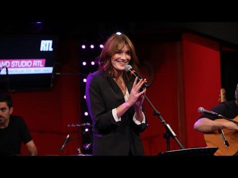 Carla Bruni - The Winner Takes It All (LIVE) Le Grand Studio RTL