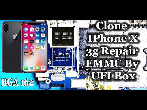 IPhone X (Copy) Repair EMMC By UFI Box (Reballing Process
