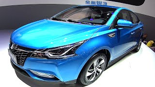 2016, 2017 Dongfeng Luxgen 3 Sedan Launched On The 2016 Beijing Auto Show