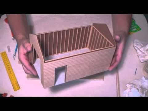 Diorama how to make a diorama building video available for Materials needed to build a house