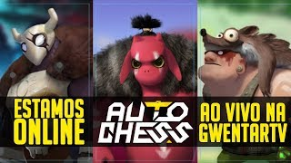 [🔴♟ AUTO CHESS AO VIVO] - Brazilian Qualify Day 2 -Auto Chess Invitational $1kk