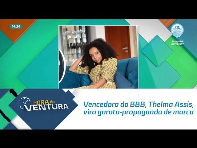 Vencedora do BBB, Thelma Assis, vira garota-propaganda de marca da Rihanna
