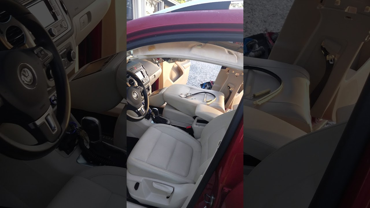 Vw tiguan headliner panoramic shade replacement