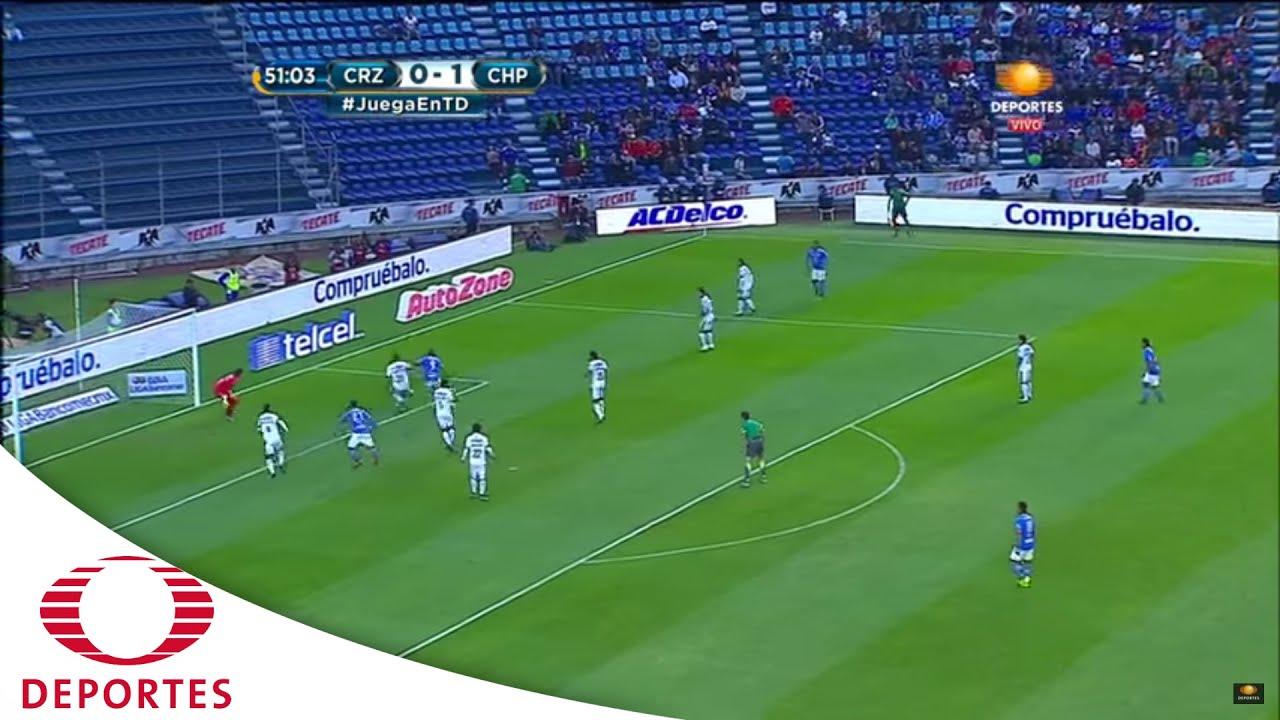 Gol De Benitez Cruz Azul Vs Jaguares Cl  Televisa Deportes Youtube