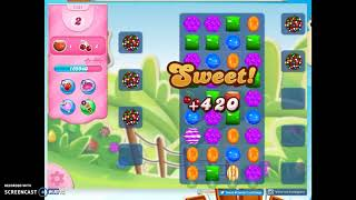 Candy Crush Level 1431 Audio Talkthrough, 3 Stars 0 Boosters