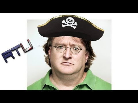 Gabe Newell Says Piracy Isn't Price Related
