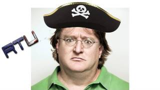 Gabe Newell Says Piracy Isn