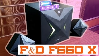 F&D F550x Bluetooth 2.1 Speaker Review & Unboxing | Looks Cool, Sound Great