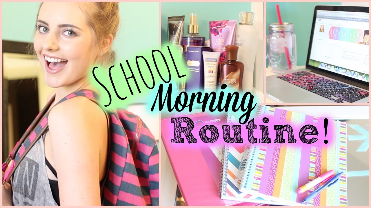 Back To School Morning Routine!  Aspyn Ovard Youtube