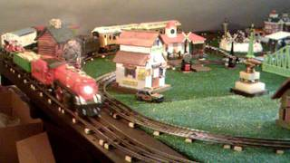 Side Track Station With Mth & Lionel Trains.avi