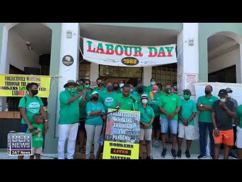 Premier David Burt At Labour Day, Sept 7 2020