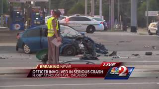 Ocoee officer involved in Orlando crash