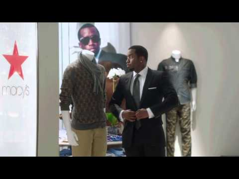 """Outtakes of Sean """"Diddy"""" Combs from the Macy's Holiday Commercial """"Sean John"""" [User Submitted]"""
