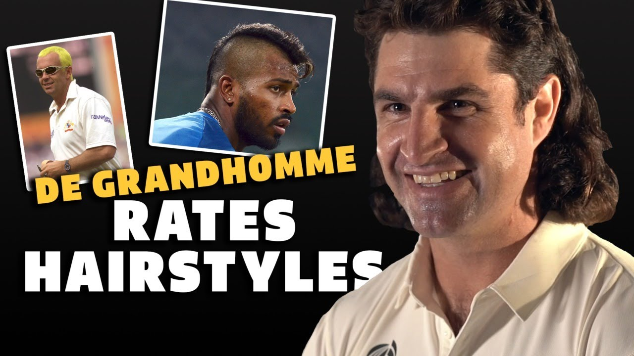 Colin de Grandhomme rates hairstyles