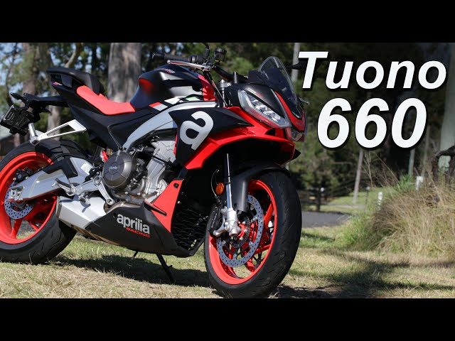 2021 Aprilia Tuono 660 Review   MT-07 Killer?