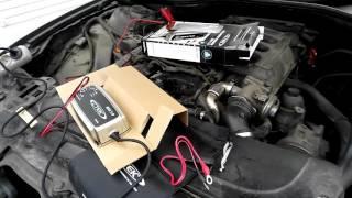 cTEK  MXS 7.0 зарядное устройство BMW 61 43 2163609 проверка на AGM 95Ah на BMW E65