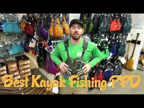 Top 4 Kayak Fishing PFD's