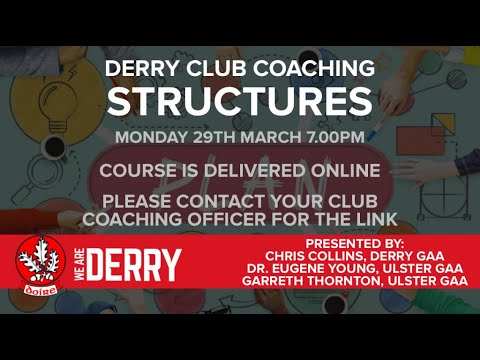 Club Coaching Structures Workshop