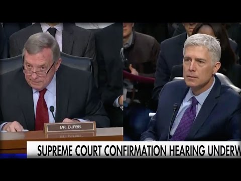 HE'S UNSTOPPABLE! NEIL GORSUCH JUST SHOT DOWN LIBERAL HATERS POINT BLANK DURING HIS OWN HEARING!