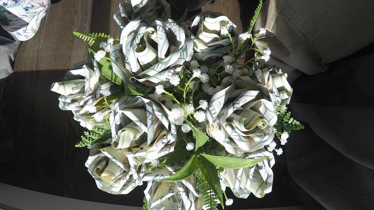 5k Bouquet (Dollar Bill Rose Bouquet)