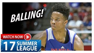 Markelle Fultz Full Highlights vs Jazz (2017.07.05) Summer League - 23 Pts, 5 Ast, 5 Reb