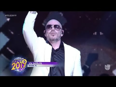Pitbull New Year's Eve 2019 Performance (COUNTDOWN FELIZ 2019)