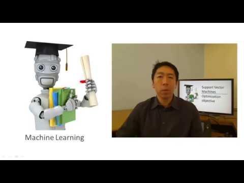 Lecture 12.1 —  Support Vector Machines | Optimization Objective — [ Machine Learning | Andrew Ng]