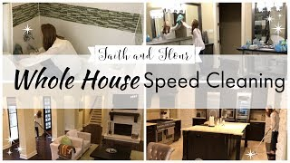Whole House Speed Cleaning 2019 | Clean With Me | Cleaning Motivation