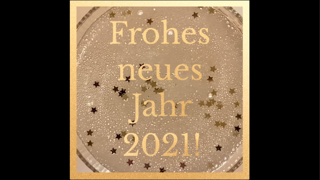 Auf ein besseres, frohes neues Jahr 2021!