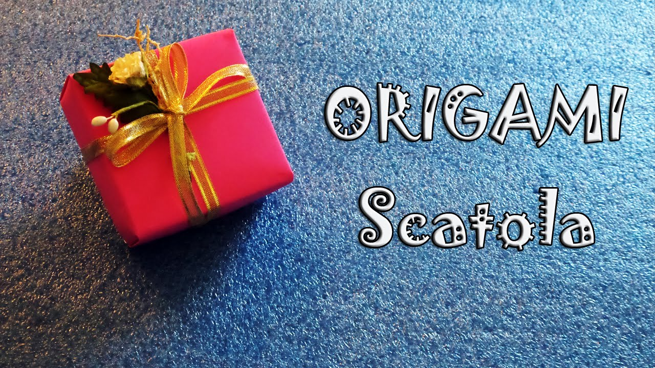 Origami tutorial scatola per regali e bomboniere fai da for Box parto cani fai da te