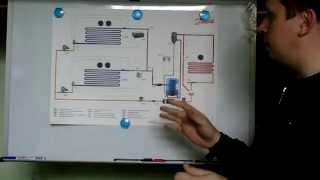 Схема холодильной установки(Принципиальная схема холодильной установки., 2015-04-13T18:16:46.000Z)