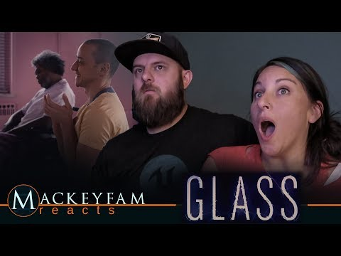 Glass - Official Trailer- REACTION and REVIEW!!!