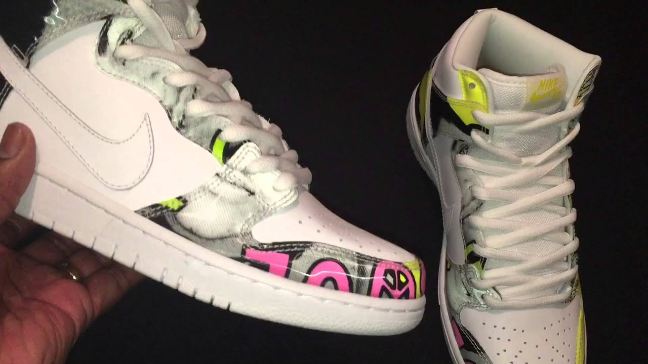 official photos 248a3 80089 Nike SB Dunk High Premium De La Soul QS White Firefly - The DGR (DarnGood  Report)