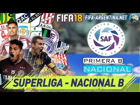 FIFA 18 SUPERLIGA ARGENTINA - F-A MOD