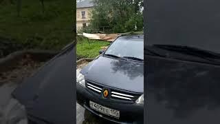 Последствия урагана 19.09.2020 г. Климовск Московская область