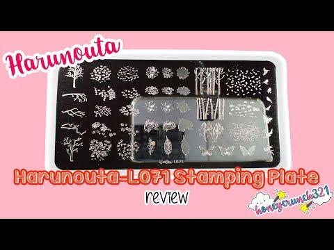 Harunouta L071 Stamping