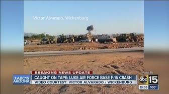 F-16 crashes near Luke Air Force Base