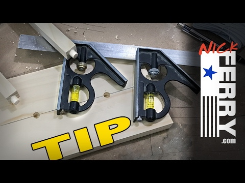 Woodworking Tip - Laying Out Mortises - Tips And Tricks - Youtube