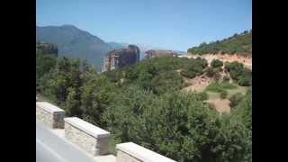 видео Экскурсии в Греции, скалы Метеоры